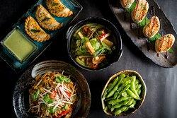 Vegetarian and Vegan Options and tasting Menu