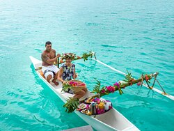Canoe breakfast
