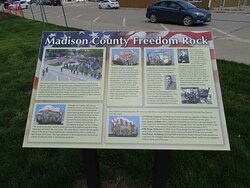 sign about freedom rock