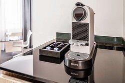 Junior Suite Nespresso machine