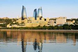 Exterior Fairmont Baku Flame Towers