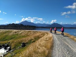 Another stunning day on the West Coast Wilderness Trail