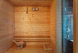 One Bedroom Suite Sauna
