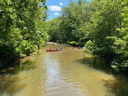 Canoeing at Rittenhouse Park