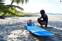 Never Too Young To Start Surfing