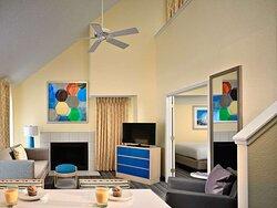 Two Bedroom Loft Suite - Living Room