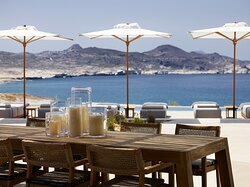 The Restaurant with Pool & Sea View