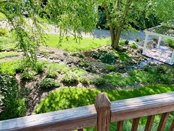Outdoor gardens (our micro weddings take place in this area)