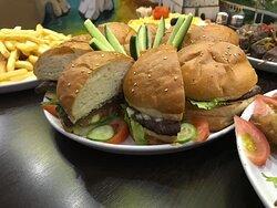 Burger party.. grab it
