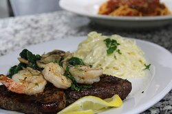 Shrimp and Steak
