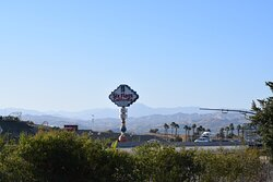 Six Flags Magic Mountain View from Guest Room