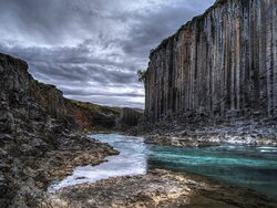 A Mysterious Canyon in Iceland