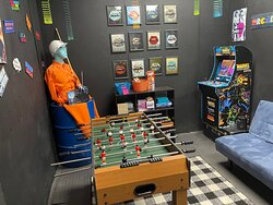 After smashing sh*%t come to our 80's retro game room and play some games and chill