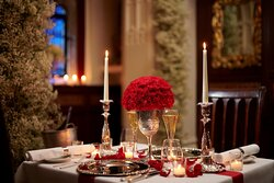 The Oratory - an annexe to Cheneston's and the ideal location for a romantic table for two or private dining for 6.