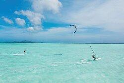 Amanpulo, Kitesurfing