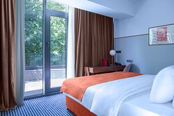 Double King Room with a Balcony - Rooms are equipped with everything a guest needs