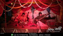 Indian Classical Music eve to take you on seventh heaven at Spicy Bella     #CalanguteBeach #BestRestaurantInCalangute #BestRestaurantInBaga #NightLifeInCalangute # BagaBeach #Candolim #HotelInCalangute #BestItalianFoodInCalangute #SeafoodRestaurantInCalangute #ItalianFoodInCalangute #ThaiFoodInCalangute #CatringInCalangute #LiveMusicInCalangute #StayInCalangute #CookingClassesInCalangute #YogaInCalangute #AbcFarmsInCalangute #HyyatInCandolim #RaddisonInCandolim #LeMeridienInCalangute #TajVillag