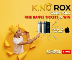 King Rox is going Live on Saturday For the First time ever King Rox is giving a free give away for new customers Get your Free iPhone 12 Pro Max on Saturday No payment No Transaction It's Free 🤩🤩🤩