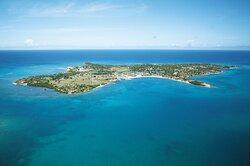 Jumby Bay Island Aerial