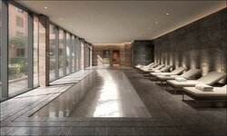 Indoor swimming pool and onsite fitness for residents of hotel only