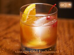 Cheers to a Dad with a Vintage Old Fashion, Happy Father's Day