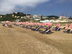 Sunbathing area;