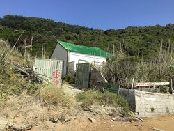Deserted Shack at the far end of the beach - it should either be refurbished or removed!