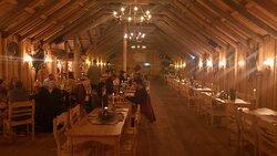 Viking theme dining room - nice ambience