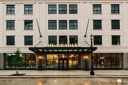 The Bradley hotel in downtown Fort Wayne.