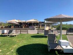 menta beach bar restaurant chania crete maleme platanias
