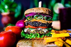 Massive burger