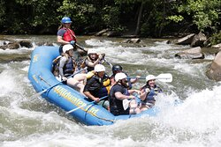 Superb rafting experience