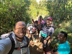 Hiking mount Hanang