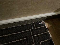 Room carpet.