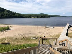 Beach volleyball, boat dock, jumping dock