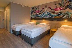 Triple Room I Bento Inn Messe Munich