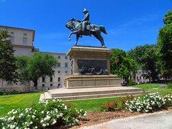Il monumento a Carlo Alberto