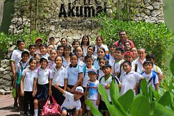 Our environmental education program is also directed free of charge for students from rural and urban schools.