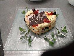 Petit gâteau improvisé