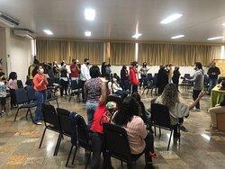 Culto da família do GC da Comunidade das Nações em Piracicaba