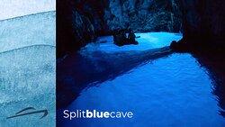 Split Blue Cave