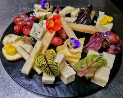 local cheese plate