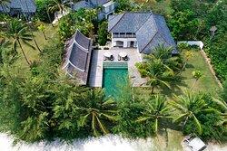 Vanda Villa - Aerial
