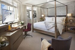 Pfeifer Suite Master Bedroom at The Little Nell