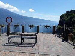 Vista panoramica a Tremosine