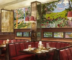 Striking new murals were added to The Colony Grill Room in 2021