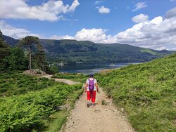 following the Ullswater Way
