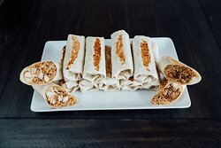 We cater! Our Burrito Trays are great for any party.