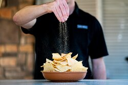 Our perfectly salted chips.
