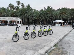 Electric  bike rent on the island of Vis